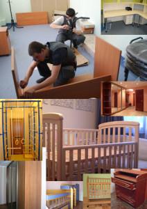 Сборка детской мебели