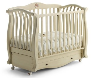 Сборка детской кроватки с маятником