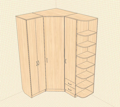 Детский шкаф для одежды своими руками чертежи