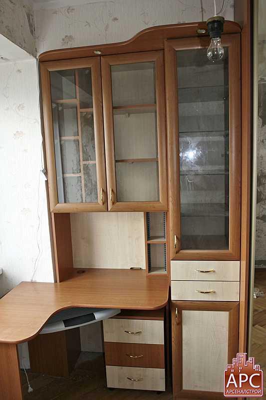 Сборка углового компьютерного стола заказать по выгодной цен.