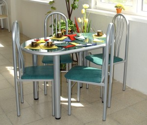Сборка кухонного стола