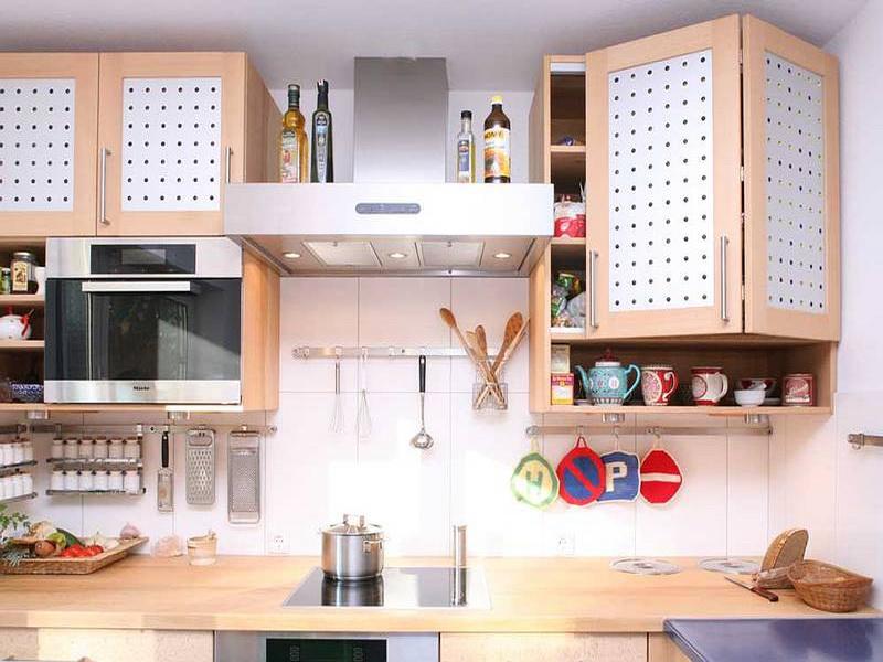 Навесной шкаф на кухню своими руками