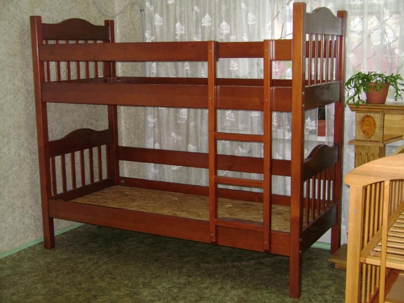 Детские деревянные кровати фото
