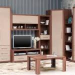 сборка стенки николь много мебели