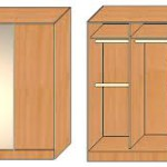 Сборка трехстворчатого шкафа