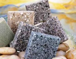 Искусственный камень своими руками столешница