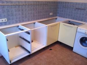Сборка кухонных ящиков