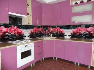Сборка кухни фартук установка